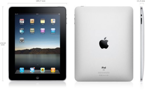 Dimensions iPad