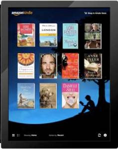 L'application Kindle sur iPad